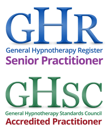 General Hypnotherapy Register. Registered Practitioner / The General Hypnotherapy Standards Council. Accredited Practitioner.