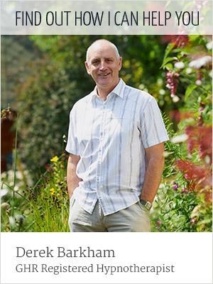 Derek Barkham, GHR Registered Hypnotherapist. Find out how I can help you.